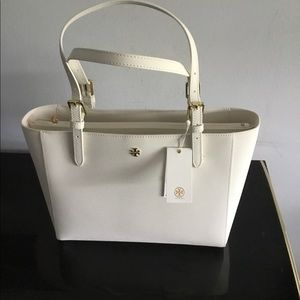 Tory Burch Emerson White Tote Bag | NWT